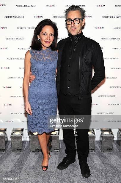 Margaret Russell Editor In Chief of Architectural Digest and Alan Cumming attend The AD100 Gala Hosted By Architectural Digest Editor In Chief...