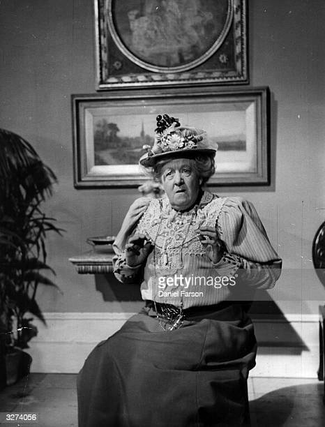 Margaret Rutherford in a film adaptation of Oscar Wilde's play 'The Importance Of Being Earnest' The film was directed by Anthony Asquith for...
