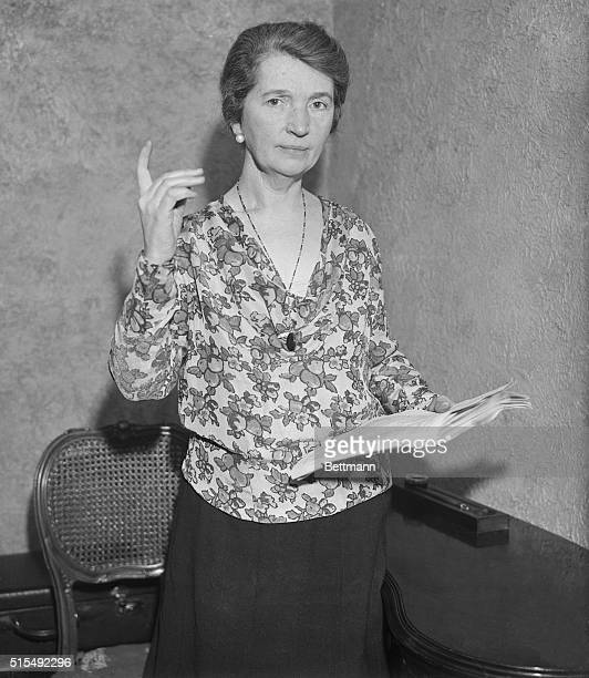 2/11/1931 Margaret Sanger birth control advocate will soon appear before the Senate Judiciary committee in Washington DC seeking support of the...