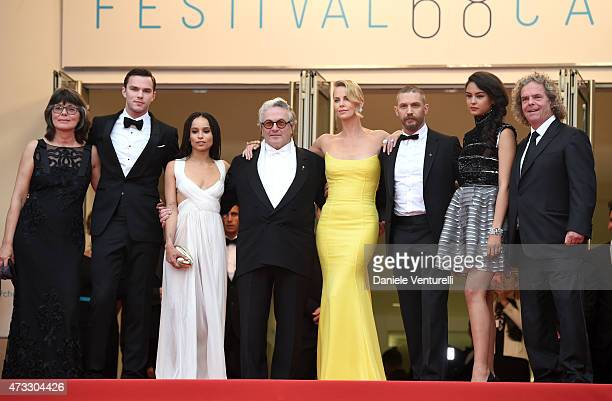 Margaret Sixel, actors Nicholas Hoult, Zoe Kravitz, director George Miller, actors Charlize Theron, Tom Hardy, Courtney Eaton and producer Doug...