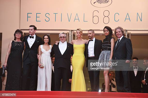 Margaret Sixel actors Nicholas Hoult Zoe Kravitz director George Miller actors Charlize Theron Tom Hardy Courtney Eaton and producer Doug Mitchell...