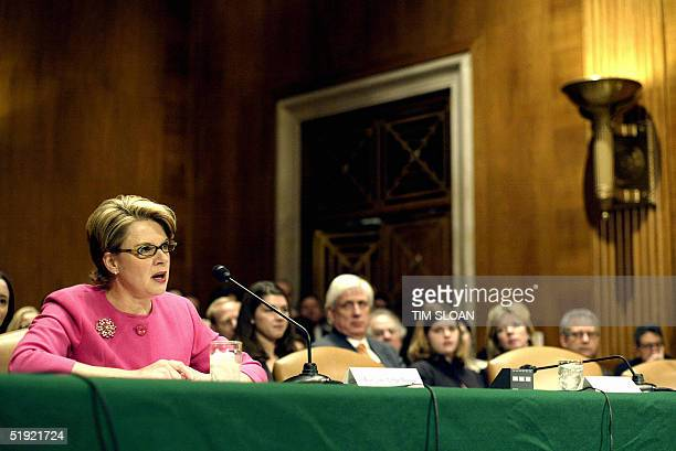 Margaret Spellings, President George W. Bush's nominee to be Secretary of Education testifies before the Senate Health, Education, Labor and Pensions...