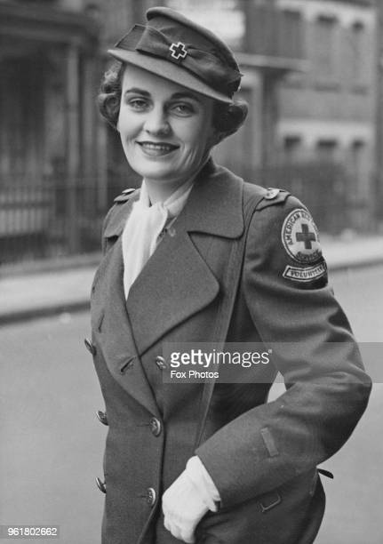 Margaret Sweeny a volunteer worker at the American Red Cross Club for WACs on Charles Street London 17th April 1944 The wife of Charles Sweeny she...