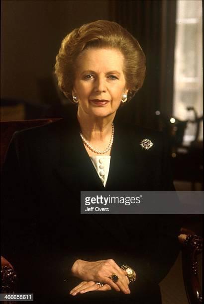 Margaret Thatcher, circa 1993..