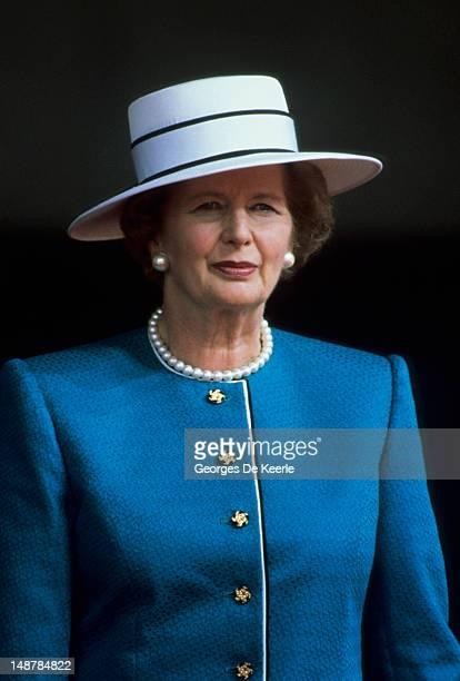 Margaret Thatcher in 1987 circa.