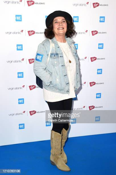 Margaret Trudeau attends WE Day UK 2020 at The SSE Arena, Wembley on March 04, 2020 in London, England.