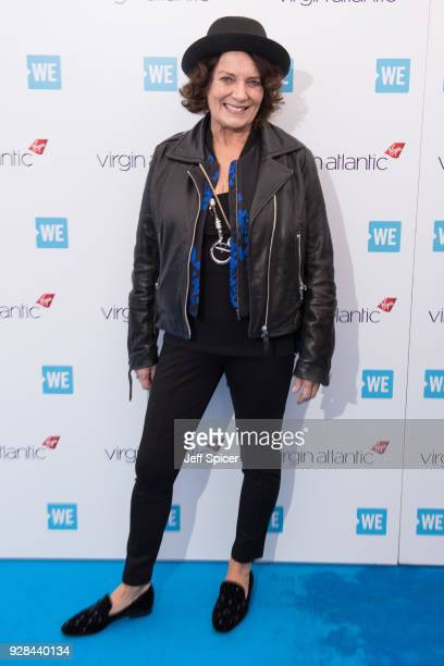 Margaret Trudeau attends 'We Day UK' at Wembley Arena on March 7 2018 in London England