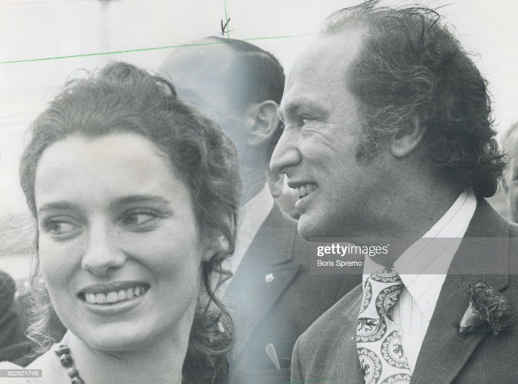 Margaret Trudeau is 23. Margaret Trudeau; the wife of Prime Minister Pierre Trudeau; is celebrating  : News Photo