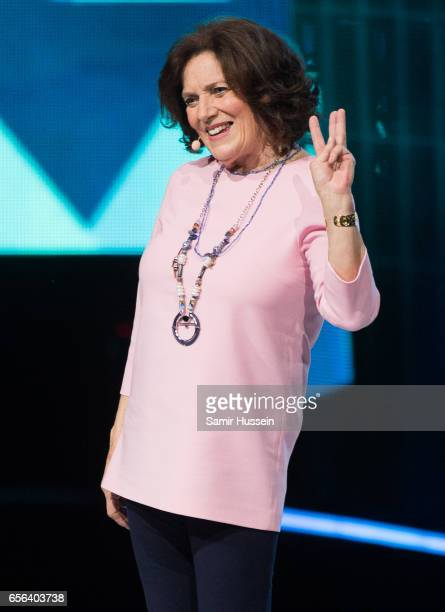 Margaret Trudeau speaks during WE Day UK on March 22 2017 in London United Kingdom