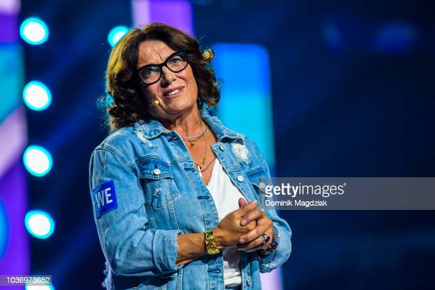 Margaret Trudeau speaks on stage during the 2018 WE Day Toronto Show at Scotiabank Arena on September 20, 2018 in Toronto, Canada.