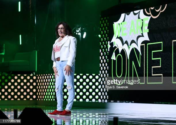 Margaret Trudeau speaks onstage during WE Day UN 2019 at Barclays Center on September 25, 2019 in New York City.