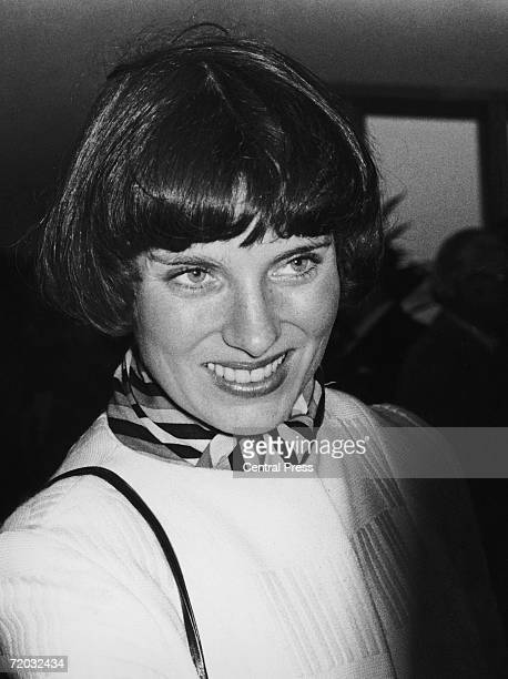 Margaret Trudeau the wife of Canadian prime minister Pierre Trudeau 23rd October 1974