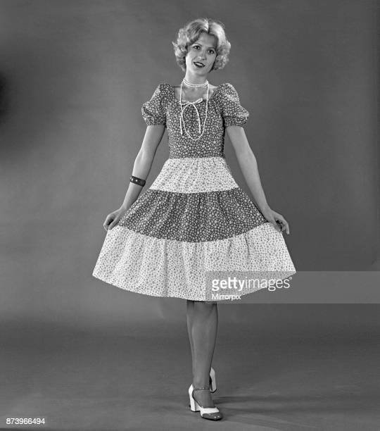 Margaret Wegrzyn from Poland seen here in the Daily Mirror studio modelling the latest summer fashions from high street retailer Marks and Spencer...