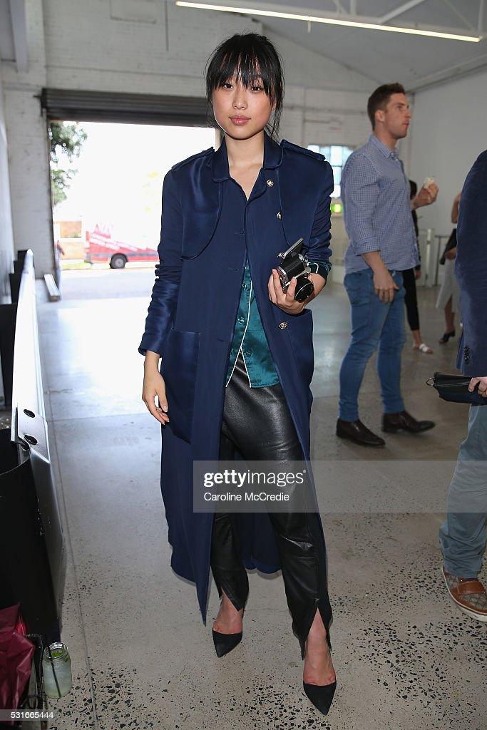 Albus Lumen - Arrivals - Mercedes-Benz Fashion Week Australia 2016