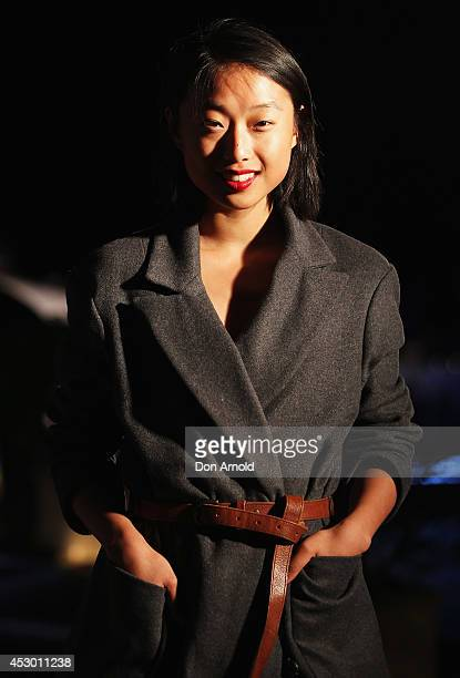 Margaret Zhang attends the Princess Yachts launch evening at Rose Bay Marina on August 1 2014 in Sydney Australia