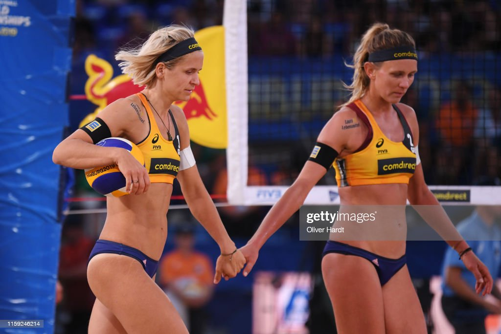 Margareta Kozuch And Laura Ludwig Of Germany Talks During Day Three News Photo Getty Images