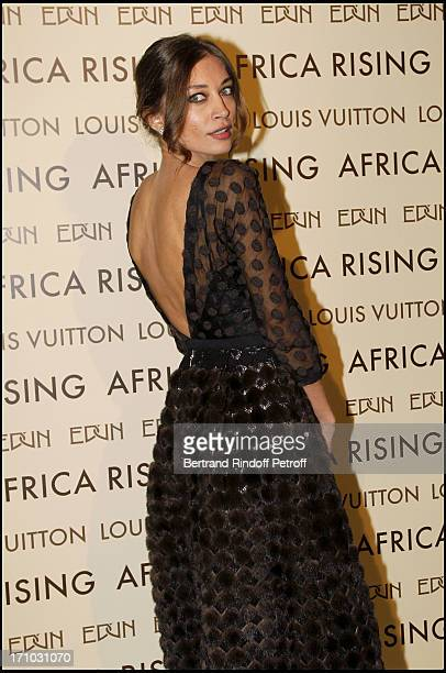 Margareth Made at Every Journey Began In Africa Party For The Exhibition Africa Rising And The Discovery Of The Collaboration Between Edun And Louis...