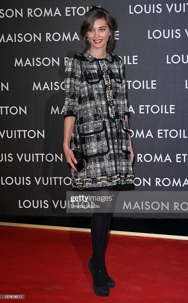 Margareth Made attends the 'Maison Louis Vuitton Roma Etoile' Opening Party at Ex Istituto Geologico on January 27, 2012 in Rome, Italy.