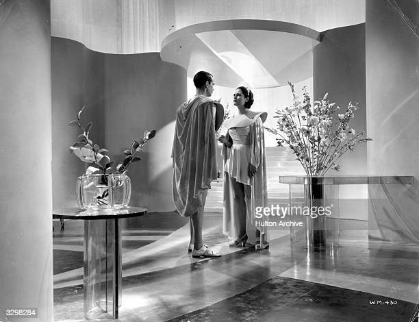 Margaretta Scott in a scene from Alexander Korda's 'Things To Come' a film about a futuristic world following a war in 1940 a plague rebellion a new...