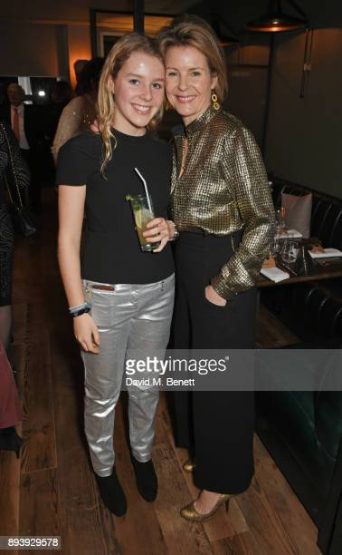 Margarita ArmstrongJones and Serena ArmstrongJones Countess of Snowdon attend Alexander Dundas's 18th birthday party hosted by Lord and Lady Dundas...