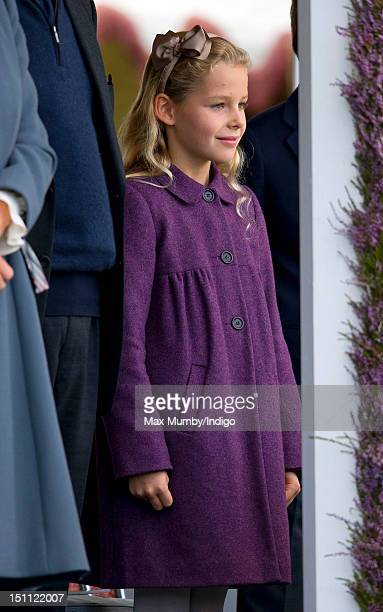Margarita ArmstrongJones attends the 2012 Braemar Highland Gathering at The Princess Royal Duke of Fife Memorial Park on September 1 2012 in Braemar...