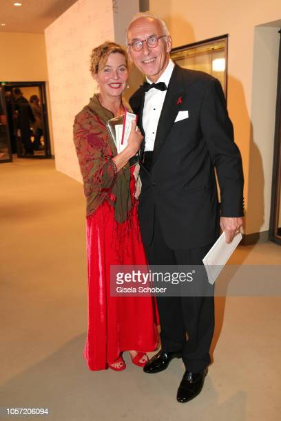 Margarita Broich and Dirk Schmalenbach during the 25th Opera Gala at Deutsche Oper Berlin on November 3 2018 in Berlin Germany