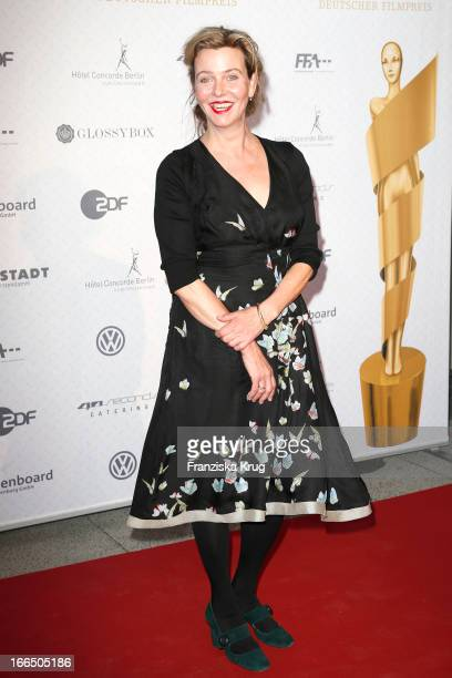 Margarita Broich attends the Lola German Film Award 2013 Nominees Reception on April 13 2013 at 40seconds in Berlin Germany