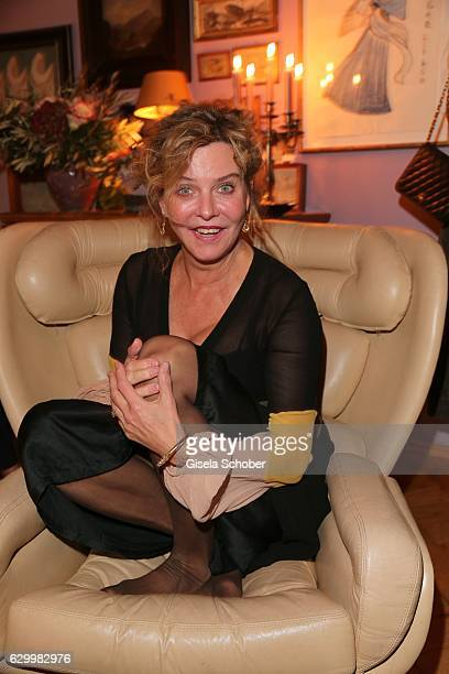 Margarita Broich during the Mon Muellerschoen Vestiaire Collective charity auction benefit fo 'Tribute to Bambi' Foundation on December 1 2016 in...