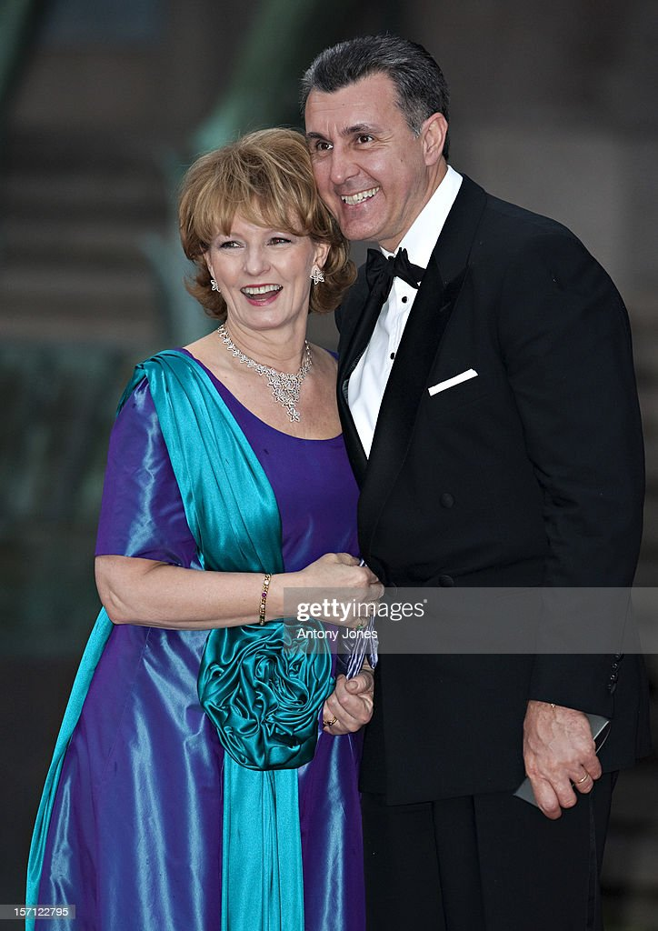 Margarita Crown Princess Of Romania And Prince Radu Attend A Concert At The Stockholm Concert Hall In Stockhlom Sweden.