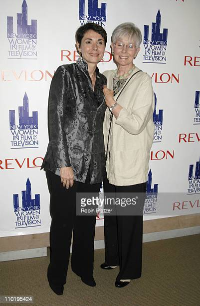 Margarita Delgado and Kathryn Hays during New York Women in Film and Television's 5th Annual Designing Hollywood Gala at Sothebys in New York City...