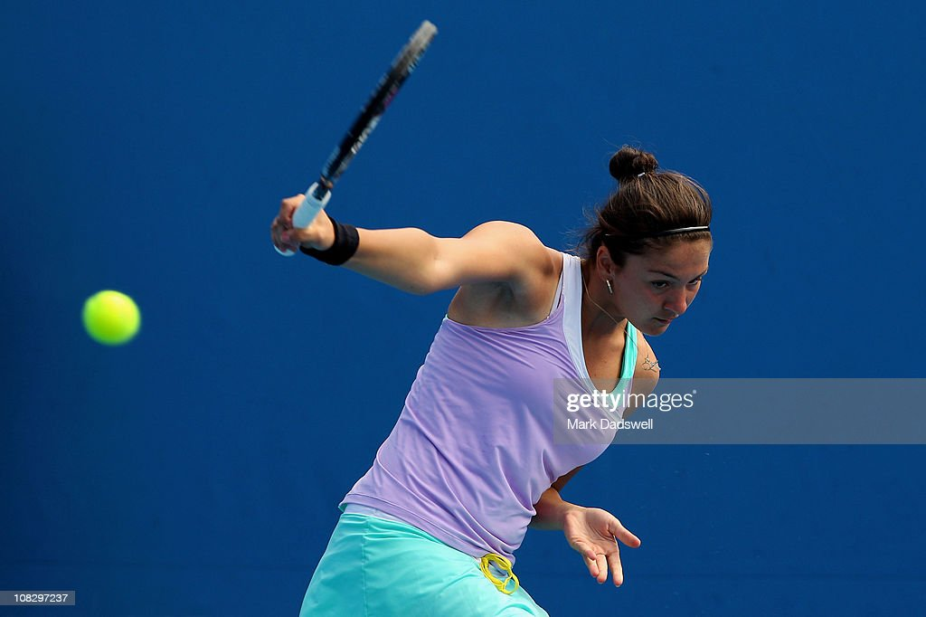 2011 Australian Open - Day 9 : News Photo