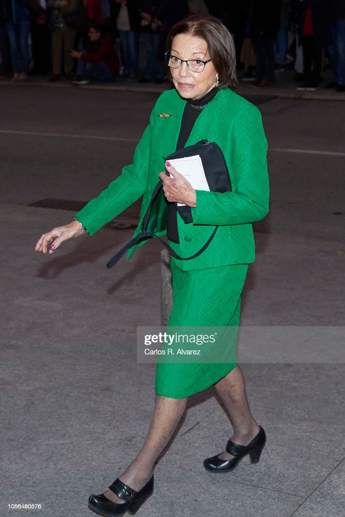 Spanish Royals Attend A Concert To Celebrate Queen Sofia's 80th Birthday : News Photo