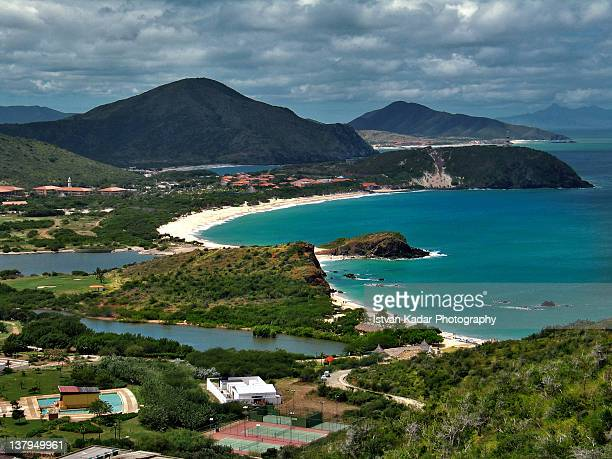 margarita island - margarita beach stock photos and pictures