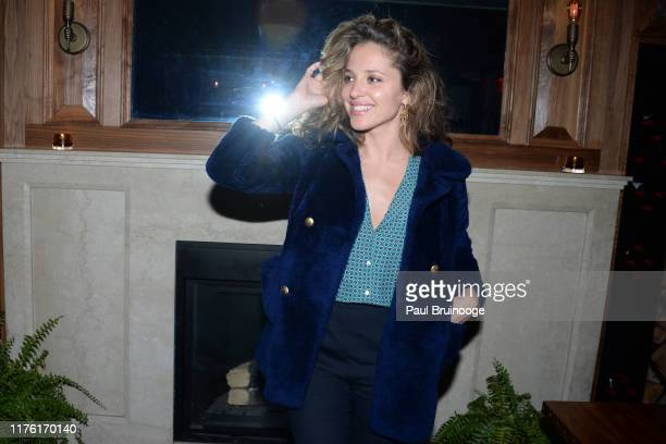 """Margarita Levieva attends Cohen Media Group And The Cinema Society Host The After Party For """"Serendipity"""" at Society Cafe at Walker Hotel Greenwich..."""