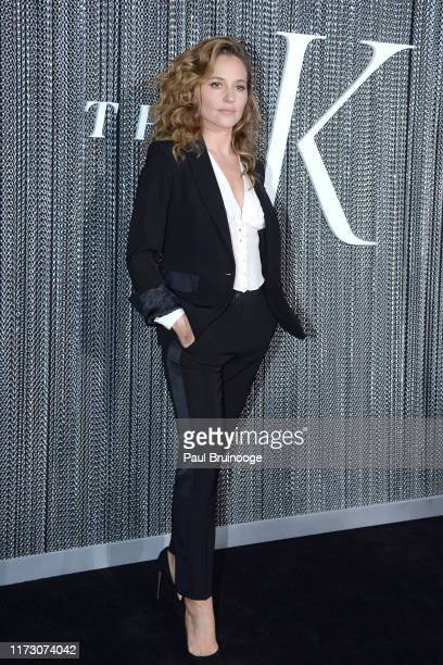 """Margarita Levieva attends Netflix Hosts The Premiere Of """"The King"""" at SVA Theater on October 1, 2019 in New York City."""
