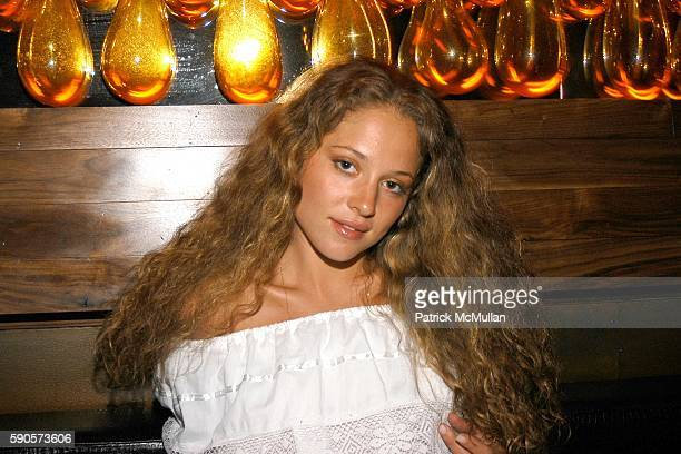 Margarita Levieva attends New York Magazine's 50 Most Beautiful New Yorker's at The Double Seven on August 9 2005 in New York City