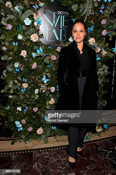 Margarita Levieva attends Ovarian Cancer Research Alliance Presents Style Lab hosted by Maggie Gyllenhaal & Kate Mara at Gotham Hall NYC on November...