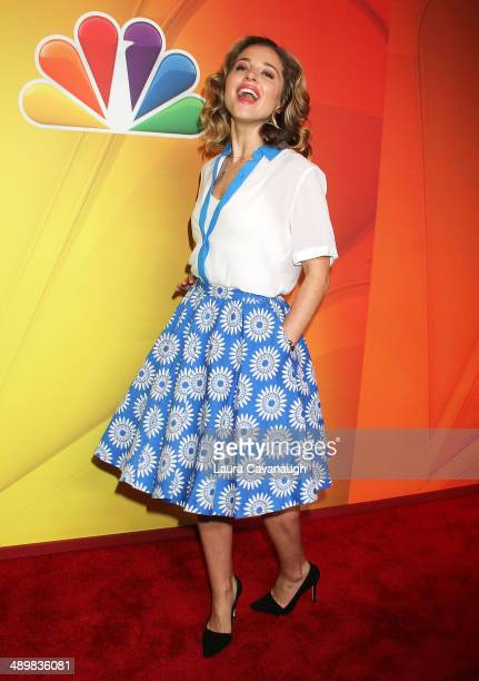 Margarita Levieva attends the 2014 NBC Upfront Presentation at The Jacob K. Javits Convention Center on May 12, 2014 in New York City.