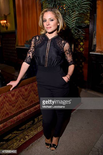 Margarita Levieva attends the 2015 Tribeca Film Festival After Party for 'Sleeping With Other People' sponsored by Dark Horse Wines at The Jane Hotel...