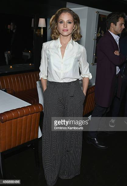 Margarita Levieva attends the after party for the premiere of Clouds Of Sils Maria hosted by Sundance Selects with W Magazine Moncler and The Cinema...