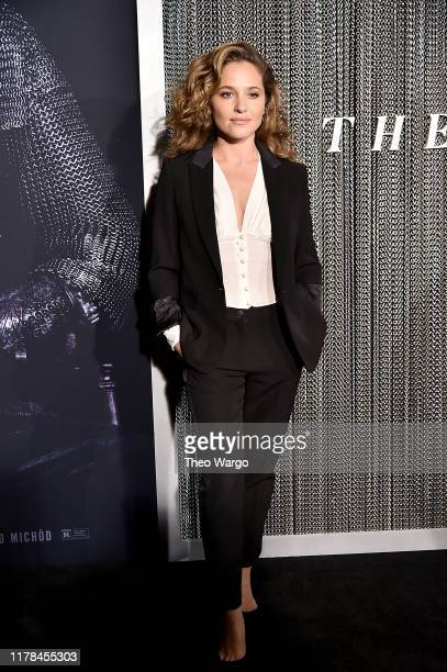 Margarita Levieva attends The King New York Premiere at SVA Theater on October 01 2019 in New York City