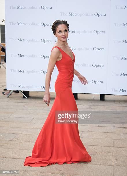 Margarita Levieva attends the Metropolitan Opera 20152016 season opening night of Otello at The Metropolitan Opera House on September 21 2015 in New...