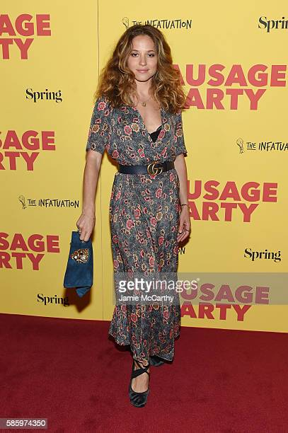 Margarita Levieva attends the premiere of Sausage Party at Sunshine Landmark on August 4 2016 in New York City