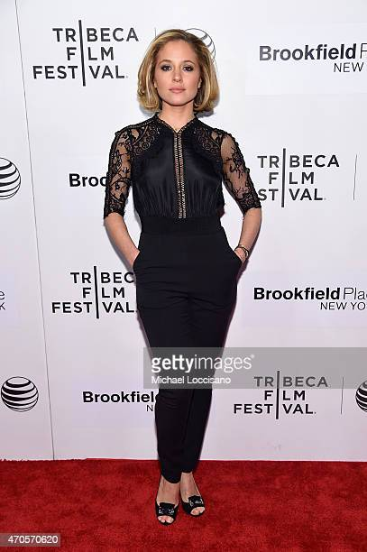 Margarita Levieva attends the premiere of 'Sleeping With Other People' during the 2015 Tribeca Film Festival at BMCC Tribeca PAC on April 21 2015 in...