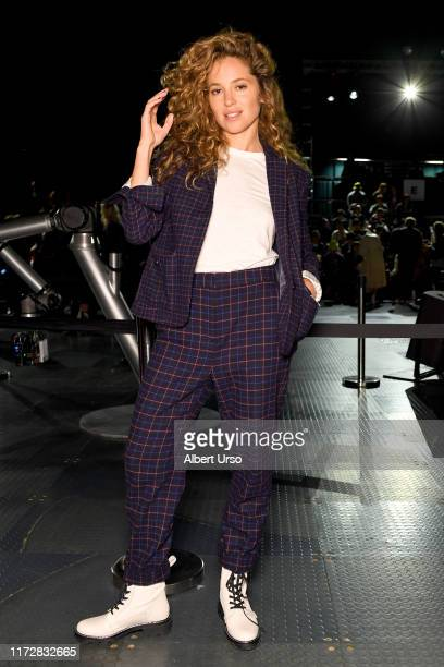 Margarita Levieva attends the Rag & Bone front row during New York Fashion Week: The Shows on September 06, 2019 in New York City.