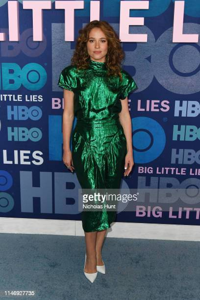 Margarita Levieva attends the season 2 premiere of Big Little Lies at Jazz at Lincoln Center on May 29 2019 in New York City