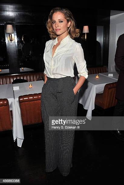 Margarita Levieva attends the Sundance Selects with W Magazine Moncler and The Cinema Society after party for the NYFF premiere of 'Clouds of Sils...