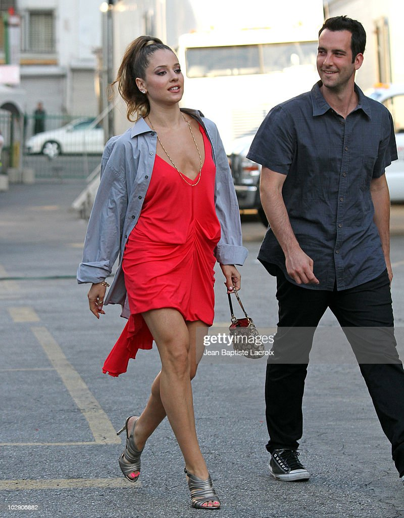 Celebrity Sightings In Los Angeles - July 14, 2010 : News Photo