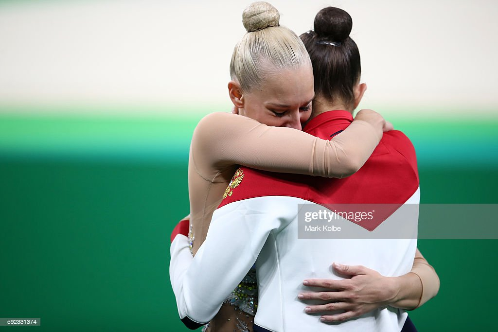 Gymnastics - Rhythmic - Olympics: Day 15 : News Photo