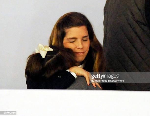 Margarita Vargas and her daughter Eugenia de Borbon attend Madrid Horse Week Fair 2012 at Ifema on December 21 2012 in Madrid Spain